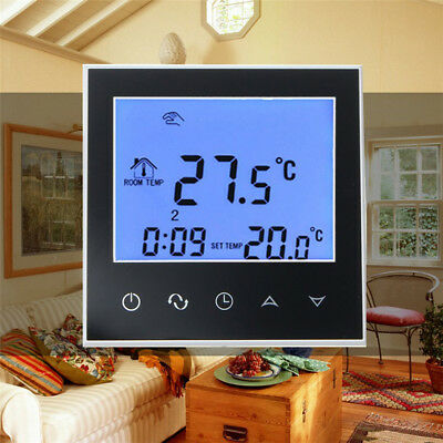 DIGITAL HEATING PROGRAMMABLE THERMOSTAT LCD NTC TEMPERATURE CONTROLLER Fine
