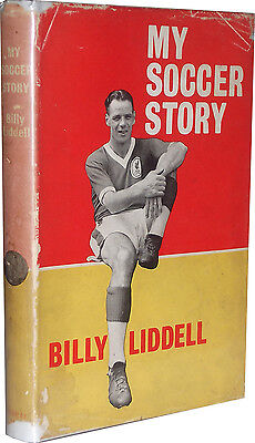 Billy Liddell Liverpool Signed Book My Soccer Story autograph 1st edition 1960