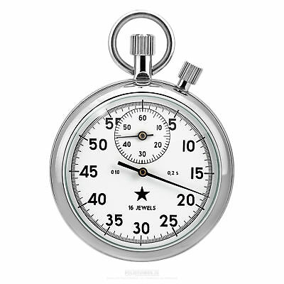 Analog Stopwatch, Star, Agat Factory Russia - Timekeeper 2 Crowns