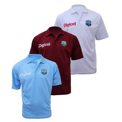 Official West Indies Cricket Replica Polo Shirt