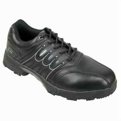 Forgan Of St Andrews Leather Waterproof Golf Shoes All Black