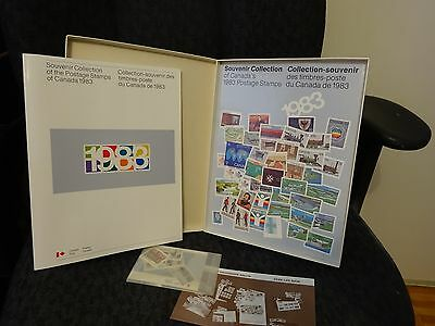 """STAMPS  Collection Canada ALBUM Canada 1983  in a """"box""""  NEW  REDUCED"""
