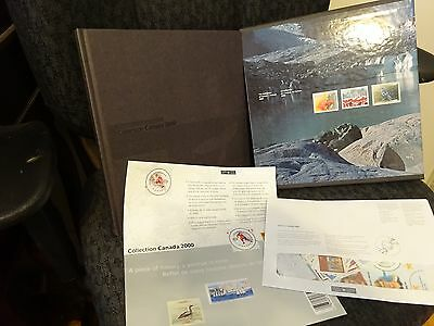 Collection Canada ALBUM Canada --2000  in hard cover jacket complete REDUCED