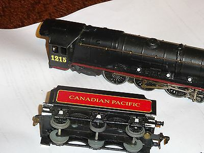 Hornby Dublo Canadian Pacific passenger  renovated engine & tender exc