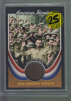 2009 Topps American Heritage Collection Heroism World War II POW's Uniform