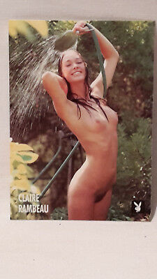 Playboy`s Playmate of the Month Miss October 1971 Claire Rambeau von 1997