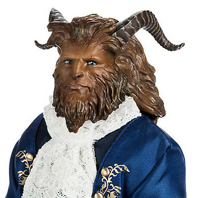 """DISNEY STORE BEAST 13"""" Live Action Film DOLL BEAUTY & THE BEAST"""