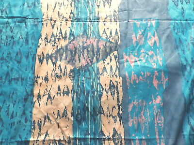 Retro Cotton Interiors Fabric in an Abstract Design by Rebecca Hoyes for Panaz