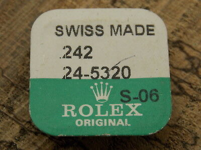 BRAND NEW GENUINE ROLEX STAINLESS STEEL OYSTER TUBE 24-5320 Crown Case Part