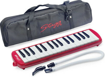 Stagg Melodica 32 Rot - inkl. Tasche