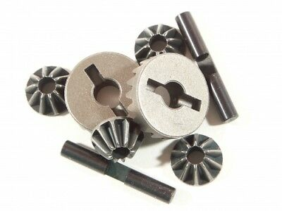 Hpi Savage X 4.6 Silver/black 87193 4 Bevel Gear Differential Conversion Set 1 S