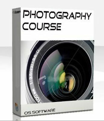 Photographer Photography Course Book Training Manual CD