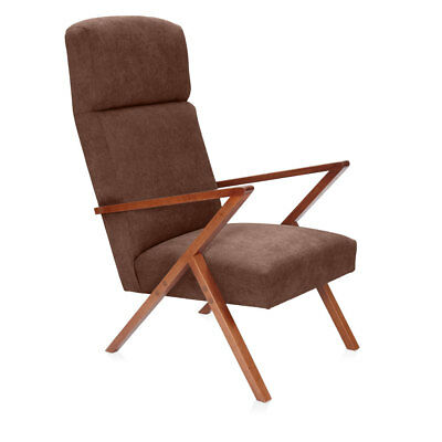 design sessel mid century 50s lounge arm chair vintage vintage teak retro 60er eur 1 00. Black Bedroom Furniture Sets. Home Design Ideas