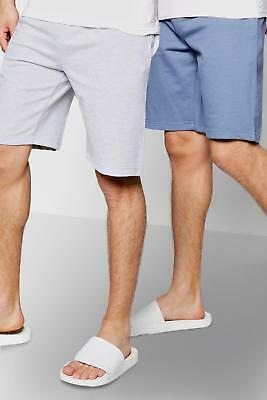 Boohoo Mens 2 Pack Jersey Shorts
