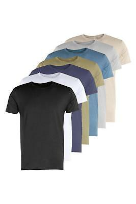 Boohoo Mens 7 Pack Muscle Fit T-Shirt