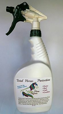 Green Horse Organics Natural  Fly Spray for Green barn Paradise  Finest on Earth