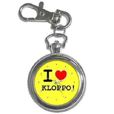 I Love Kloppo! Jurgen Klopp Dortmund Keychain Watch *great Gift Item**