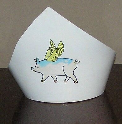 Flying Pig Crown by Amos Hummell