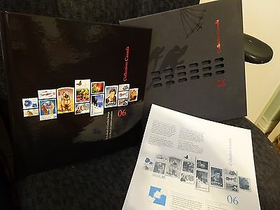 STAMPS Collection Canada ALBUM Canada 2006 with stamps NEW VACsealed
