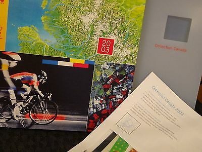 Collection Canada  ALBUM Canada 2003 new with stamps