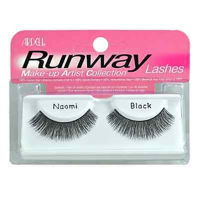 4 x Naomi Ardell Runway Lashes  Make-up Artist Collection