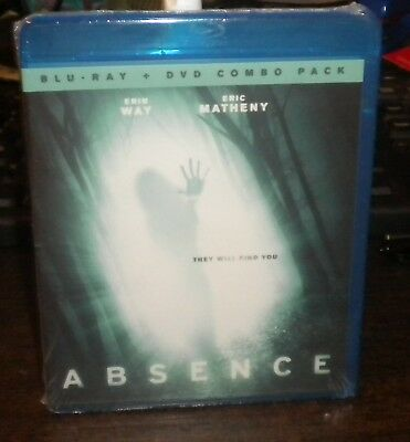 New Sealed Absence (Blu-ray & DVD, 2013, 2-Disc Set)p Erin Way