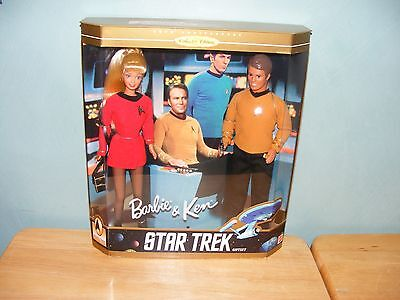 1996 Barbie Ken 30th Anniversary Collector Edition STAR TREK Gift Set #15006 NEW