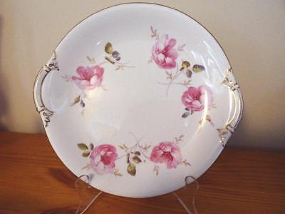 1921 Royal Crown Derby Hand Painted Roses Serving Plate