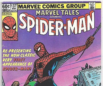 AMAZING FANTASY #15 1st Spider-Man Reprint in Marvel Tales #137 Mark Jewelers Ed