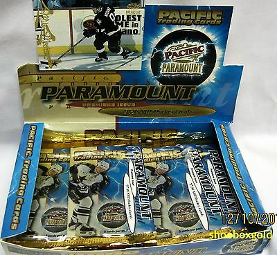 1997-98 Pacific PARAMOUNT NHL HOCKEY Factory Sealed HOBBY PACK