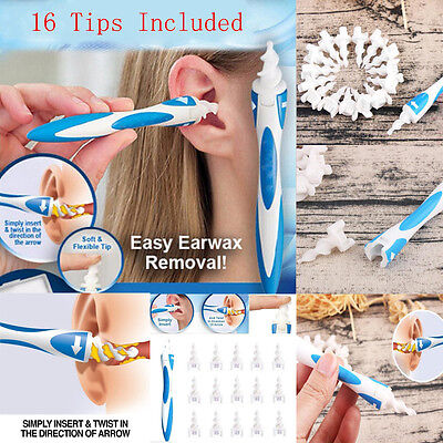 Ear Wax Removal Soft Spiral Ear Cleaner Multifunctional Multifunctional Swab