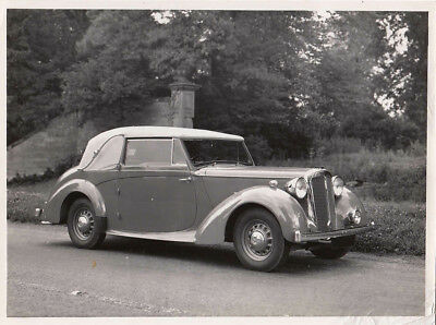 Daimler 2.1/2 Litre D.h.coupe Coachwork By Tickford Period Photograph.