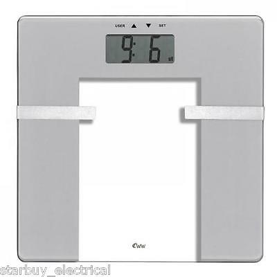 Weightwatchers 8935U Ultra Slim Glass Body Analysis Weighing Scale