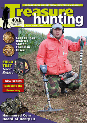 Treasure Hunting Magazine November 2017