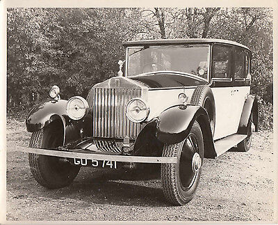 ROLLS ROYCE FOUR DOOR LIMOUSINE, REG No.GO5741 PHOTOGRAPH.