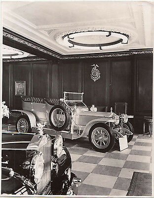 ROLLS ROYCE SLIVER GHOST REG No.AX 201, PHOTOGRAPH.