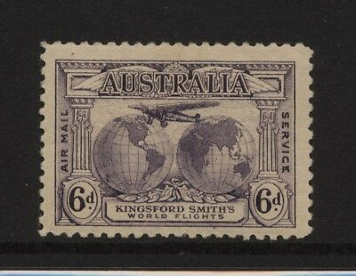 Australia Kingsford Smith 6d Value Double Lettering Variety (S.G. 123a) MM