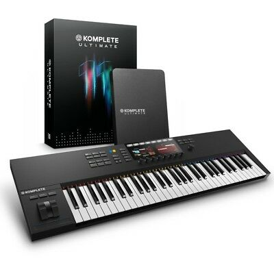 NI Komplete Kontrol S61 MK2 USB MIDI Studio Production Controller Keyboard