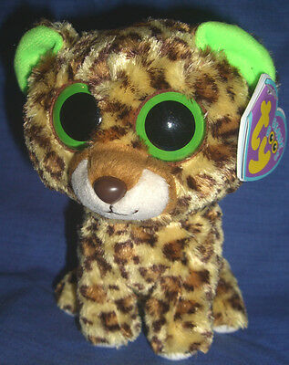 w-f-l Ty Beanie Speckles Boos 15 cm Leopard Boo ´s Glubschi Wild Cat