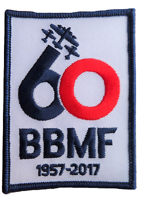 Battle of Britain Memorial Flight 60 Embroidered Patch MOD Approved - ECB7960