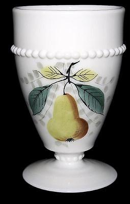 Westmoreland Beaded Edge with Fruit (Pear) Tumbler