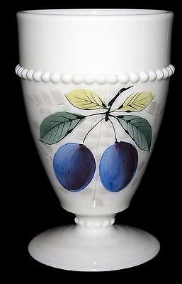 Westmoreland Beaded Edge with Fruit (Plum) Tumbler