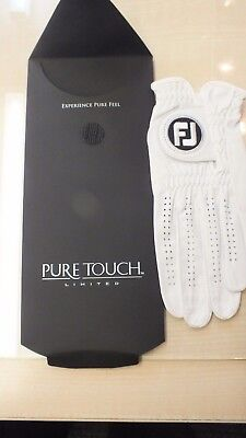 Footjoy Pure Touch leather golf glove brand new large left hand