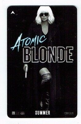ATOMIC BLONDE Movie Charlize Theron Room KEY Card Caesars Palace Las Vegas Hotel