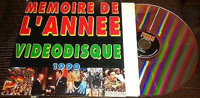 Inclus Johnny Hallyday Rare Cd Videodisque Laserdisc Memoire De L Annee 1990