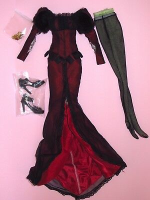 """Tonner - Wizard of Oz - Fiery Skies Wicked Witch 18"""" Evangeline Doll OUTFIT New"""
