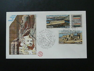 archaeology in Egypt egyptology Luxor FDC Italy 69179