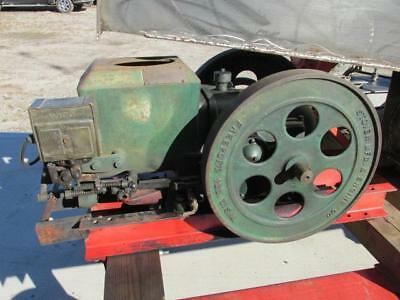 Antique Vintage 1940 Stover MFG CT-2 Hit & Miss Gas Engine 2 to 2-1/2 HP RUNS!!