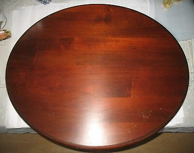 """Oval 28.5"""" x 23.75"""" Wooden Small Side Table Top Furniture Repair Refurbish"""