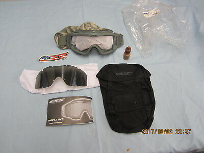 NEW     ESS G.I. Profile NVG Goggles - Foliage Green NEW (APEL APPROVED EYEWEAR)